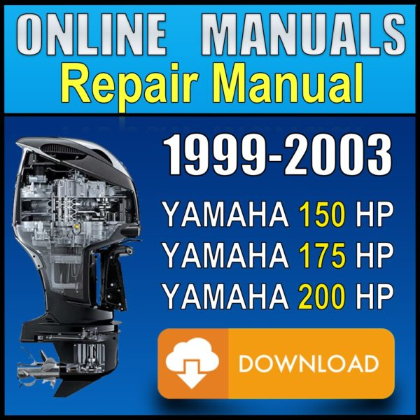Yamaha 150 175 200 Service Manual 1999 2000 2001 2002 2003 Pdf