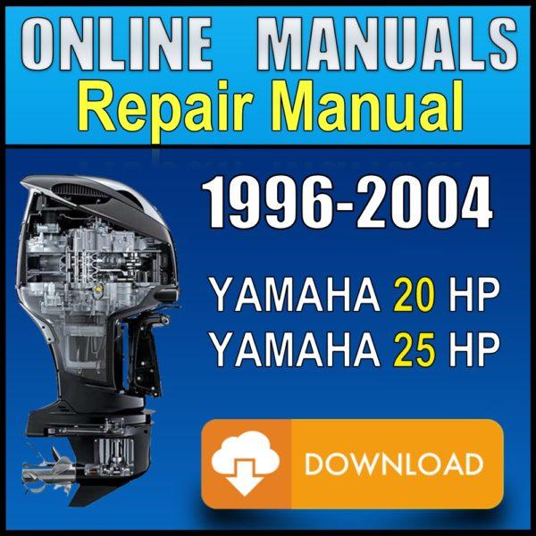 Yamaha 20 25 hp Service Manual 1996 1997 1998 1999 2000 2001 2002 2003 2004