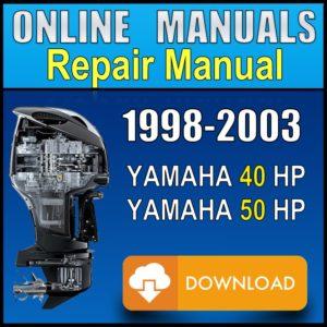 Yamaha 40hp 50hp Service Manual 1998 1999 2000 2001 2002 2003 Pdf