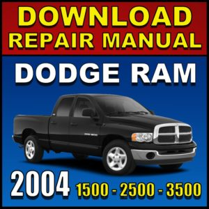 Dodge Ram 1500 2500 3500 Repair Manual Pdf Download Service Manual